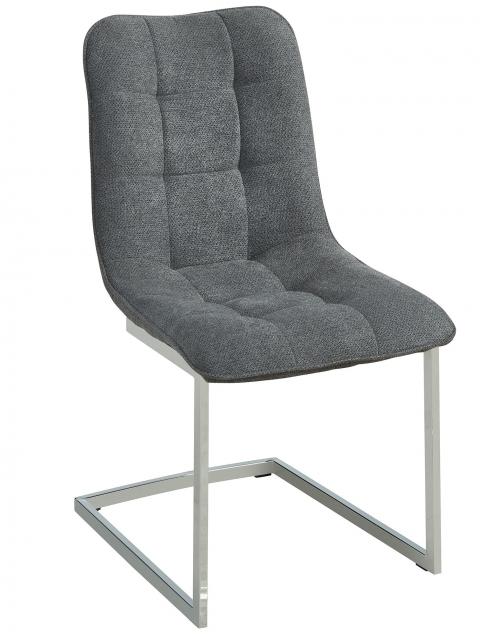 Galyn Side Chair in Grey, 2pk